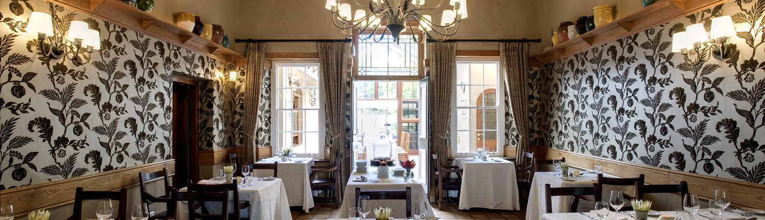 helenas restaurant at Coopmanhuijs Boutique Hotel and Spa is one of the best restaurants in Stellenbosch